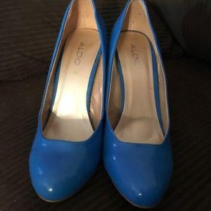 Blue Aldo Douvier Shoes Size 10